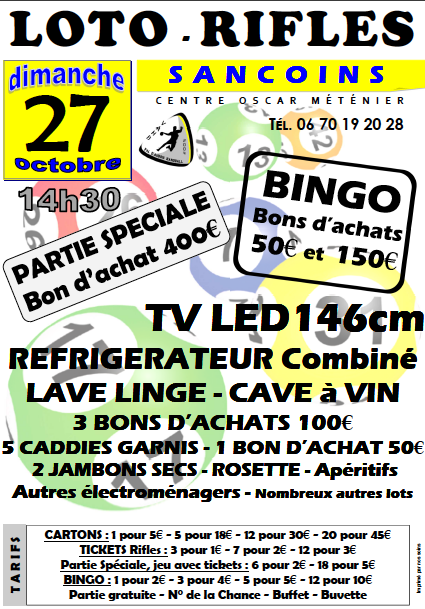 Rifles du 27 octobre